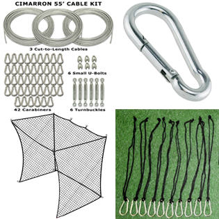 Sub category thumbnail image for Batting Cage Accessories