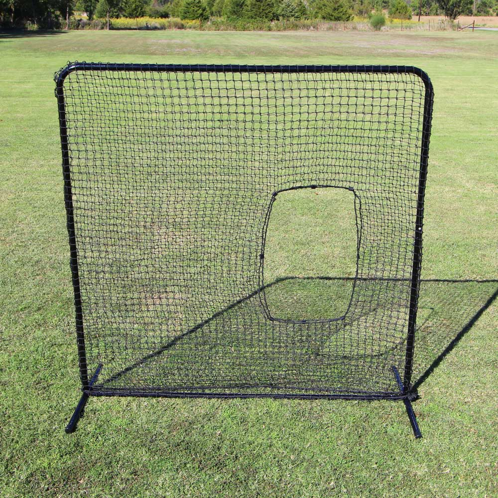 Packaging or Promotional image for Cimarron 7'' x 7'' #42 Softball Net and Frame