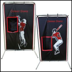 Thumbnail Image 2 for Cimarron 2-Sport Catcher Vinyl Backstop with Frame