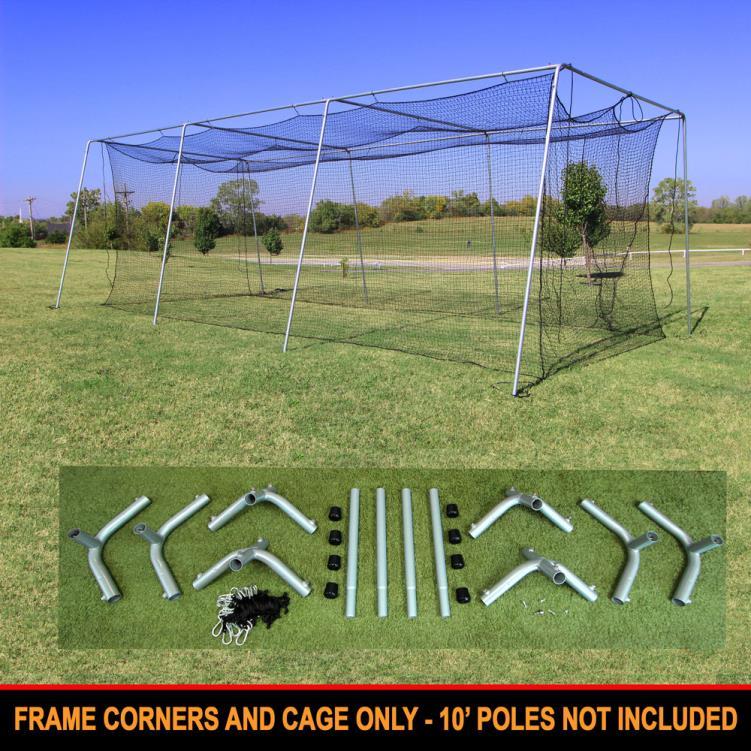 Cimarron 30x12x10 #24 Cage Net with Frame Corners