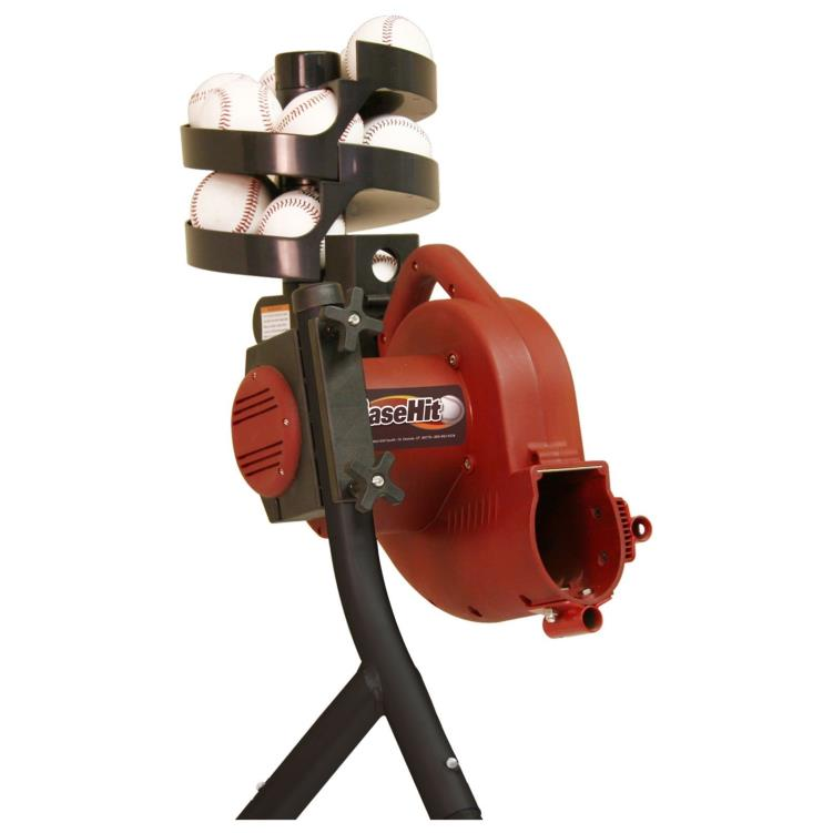 Heater Base Hit Pitching Machine with Ball Feeder