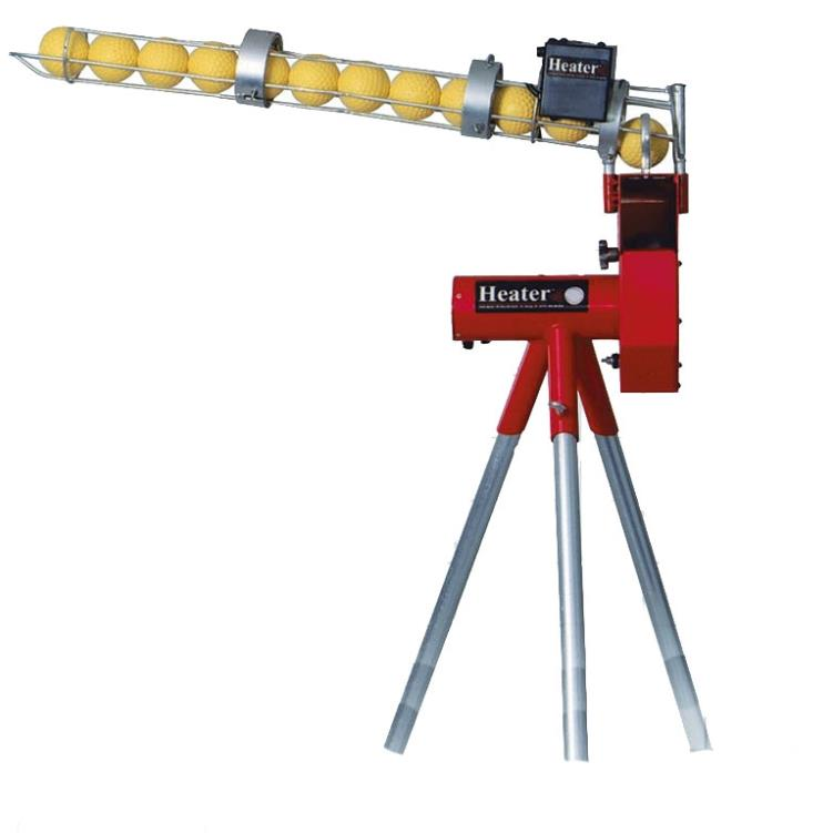 Heater Combo Pitching Machine with Ball Feeder