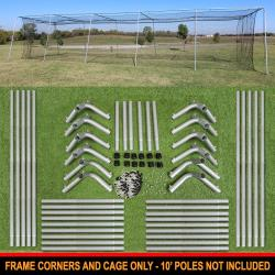 Thumbnail Image 9 for Cimarron #24 Batting Cage and Frame Corners