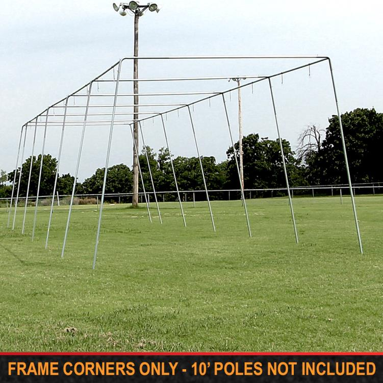 "Cimarron 1 ½"" Batting Cage Frame Corners"