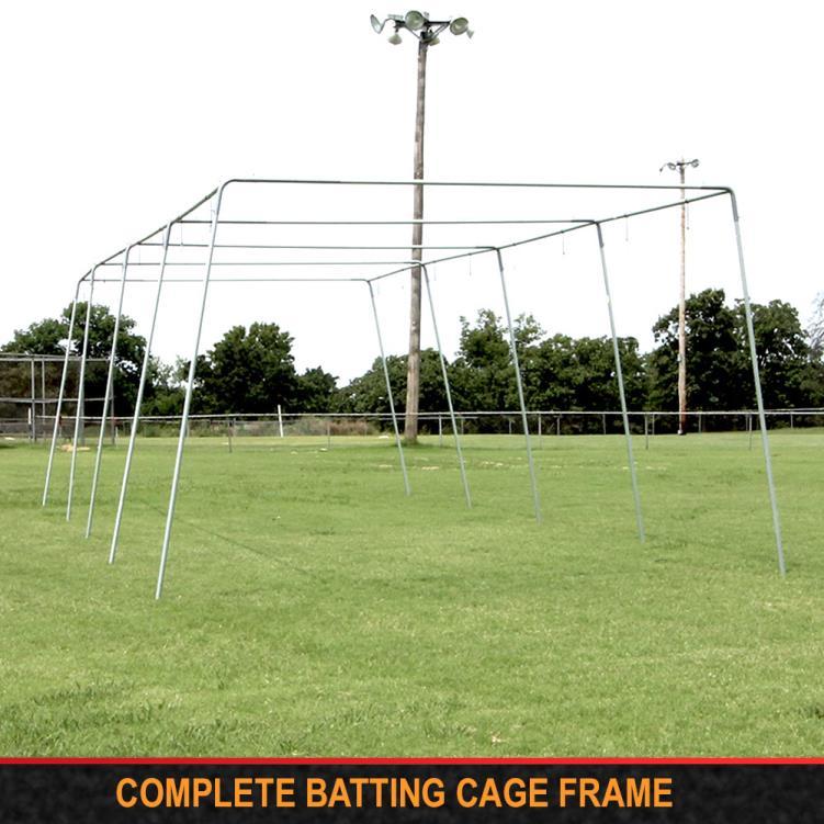 """Cimarron 1 ½"""" Complete Batting Cage Frames"""