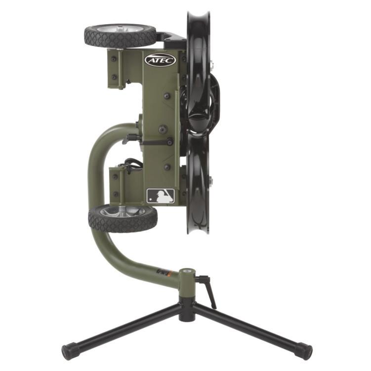 M2 Softball Training Machine on Lowpod