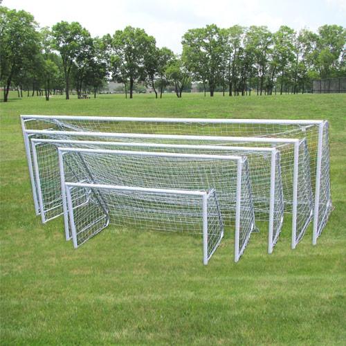 4 Round Aluminum Soccer Goals