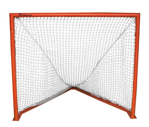 Predator Deluxe Box Lacrosse Goal with 7mm White Net