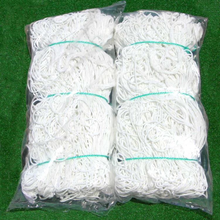 4mm Cimarron Soccer Nets - White