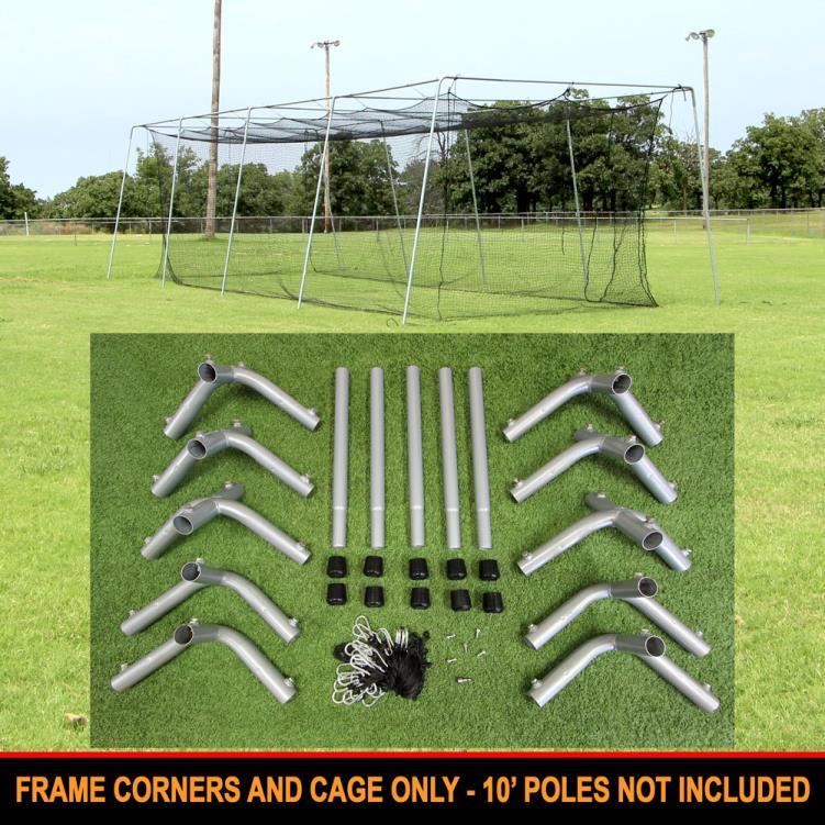 Cimarron 40x12x10 #24 Cage Net with Frame Corners