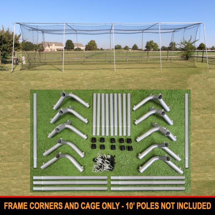 Cimarron 50x12x10 #24 Cage Net with Frame Corners