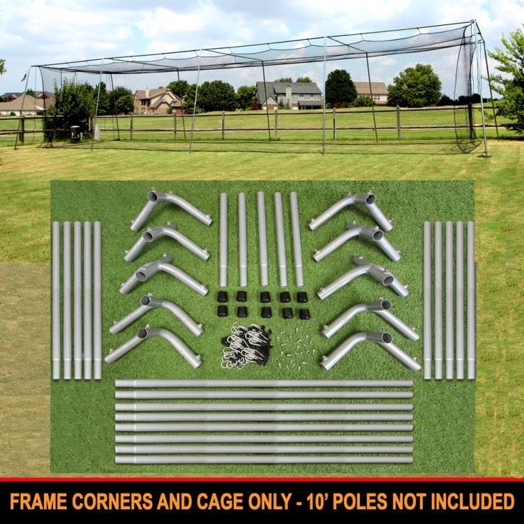 Cimarron 55x12x12 #24 Cage Net with Frame Corners
