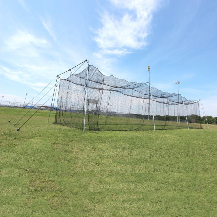 Cimarron 40x12x10 Rookie Batting Cage with Cable Frame