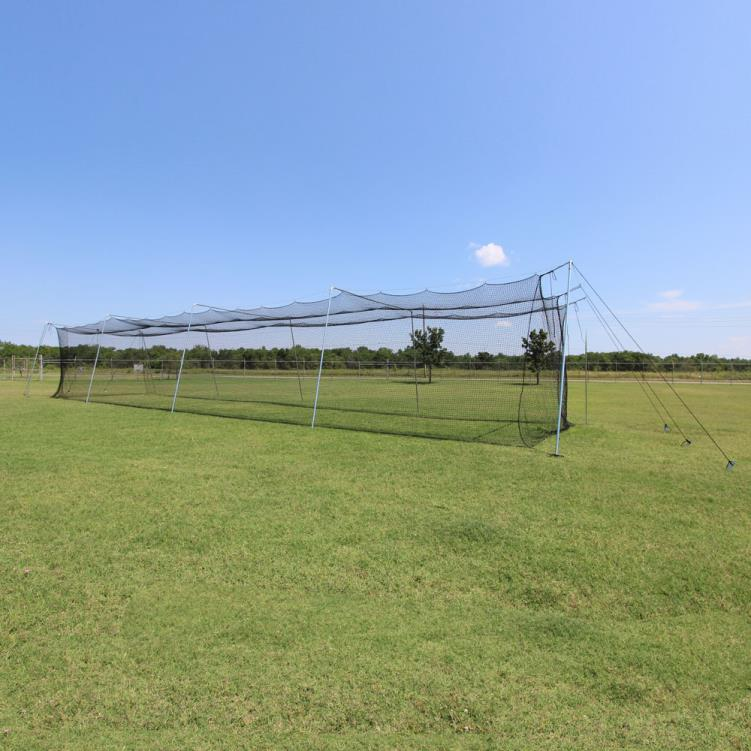 Cimarron 50x12x10 Rookie Batting Cage with Cable Frame
