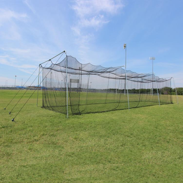 Cimarron 55x12x12 Rookie Batting Cage with Cable Frame