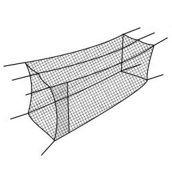 Thumbnail Image 6 for Cimarron #36 Twisted Poly Batting Cage Nets