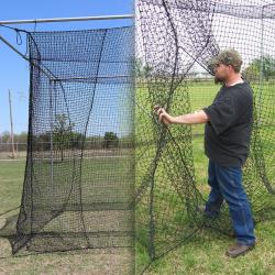 Thumbnail Image 6 for Cimarron #24 Twisted Poly Batting Cage Nets