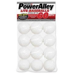 Thumbnail Image 2 for PowerAlley 60 MPH White Lite Baseballs