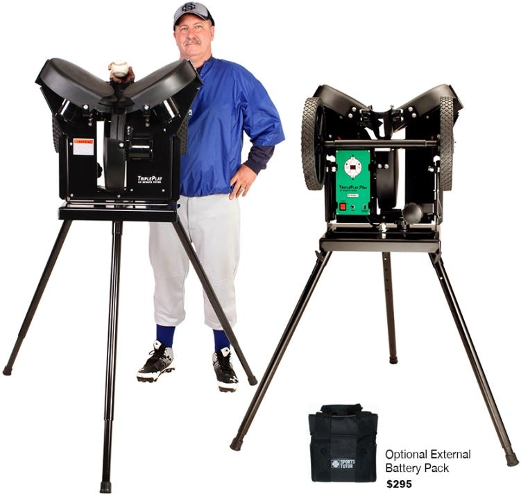 TriplePlay Plus Pitching Machine