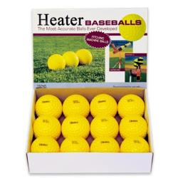 Thumbnail Image 2 for Heater Dimpled Baseballs - Yellow