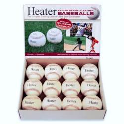 Thumbnail Image 2 for Heater Leather Baseballs - White
