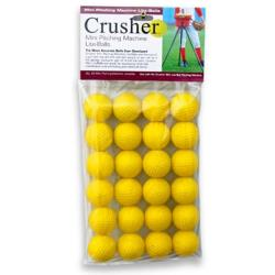 Thumbnail Image 2 for Soft Crusher Mini-Lite Balls - Yellow - 24 Ct.