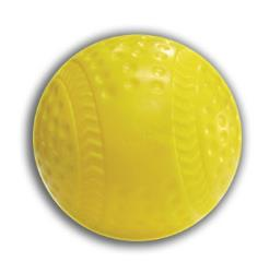Thumbnail Image 2 for Cimarron Dimpled Yellow Seamed Baseballs - Dozen