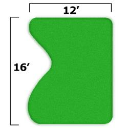 Thumbnail Image 2 for 15'' x 19'' Complete Par Saver Putting Green w/o Fringe