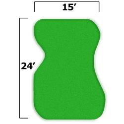 Thumbnail Image 2 for 18'' x 27'' Complete Par Saver Putting Green w/o Fringe