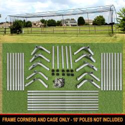 Thumbnail Image 6 for Cimarron #24 Batting Cage and Frame Corners