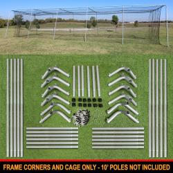 Thumbnail Image 8 for Cimarron #24 Batting Cage and Frame Corners