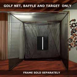 Thumbnail Image 3 for Cimarron 10' x 10' x 10' Masters Golf Net Only