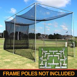 Thumbnail Image 2 for Cimarron 20'x10'x10' Masters Golf Net with Frame Corners