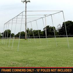 "Thumbnail Image 2 for Cimarron 1 ½"" Batting Cage Frame Corners"