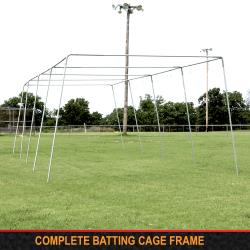 "Thumbnail Image 4 for Cimarron 1 ½"" Complete Batting Cage Frames"