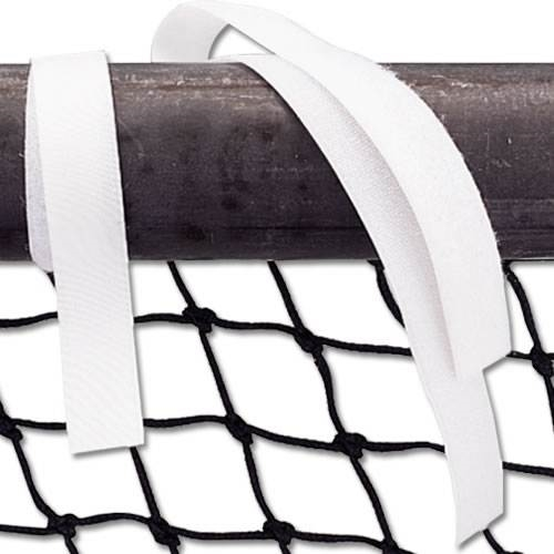 Alumagoal Hook and Loop Net Straps White