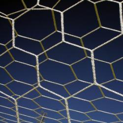 Thumbnail Image 2 for 8'H x 24'W x4'D x10'B - Hexagonal 5mm Braided Soccer Net