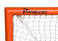 Thumbnail Image 2 for Predator Deluxe Box Lacrosse Goal with 7mm White Net