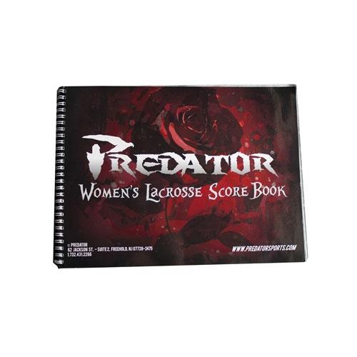 Predator Official Lacrosse Scorebook Womens
