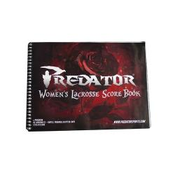 Thumbnail Image 2 for Predator Official Lacrosse Scorebook Womens