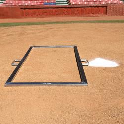 Thumbnail Image 2 for Batter''s Box Heavy Duty Baseball Template 4'' x 6''