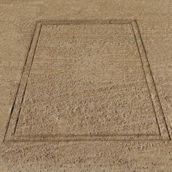 Thumbnail Image 5 for Batter''s Box Heavy Duty Baseball Template 4'' x 6''