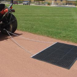 Thumbnail Image 7 for Infield Eraser Mat Drag 6.5'' x 4'' with Tow Rope