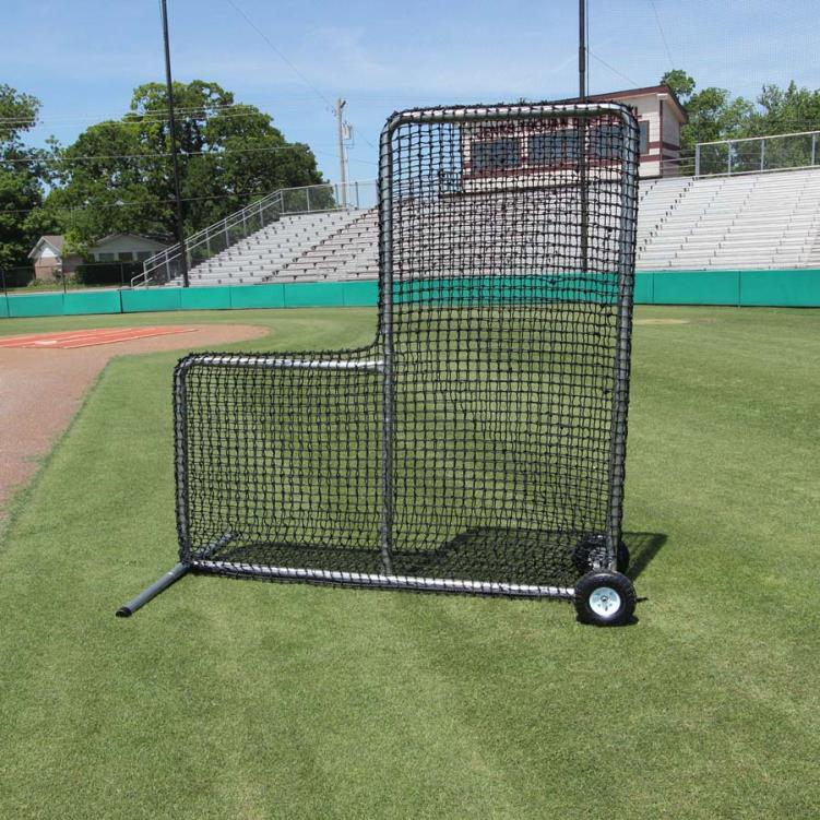 Cimarron 7' x 7' #84 Premier L Net and Frame with Wheels
