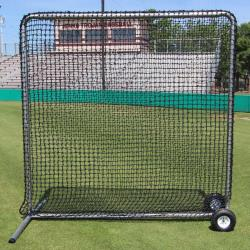 Thumbnail Image 3 for Cimarron 7'' x 7'' #84 Premier Fielder Net and Frame with Wheels