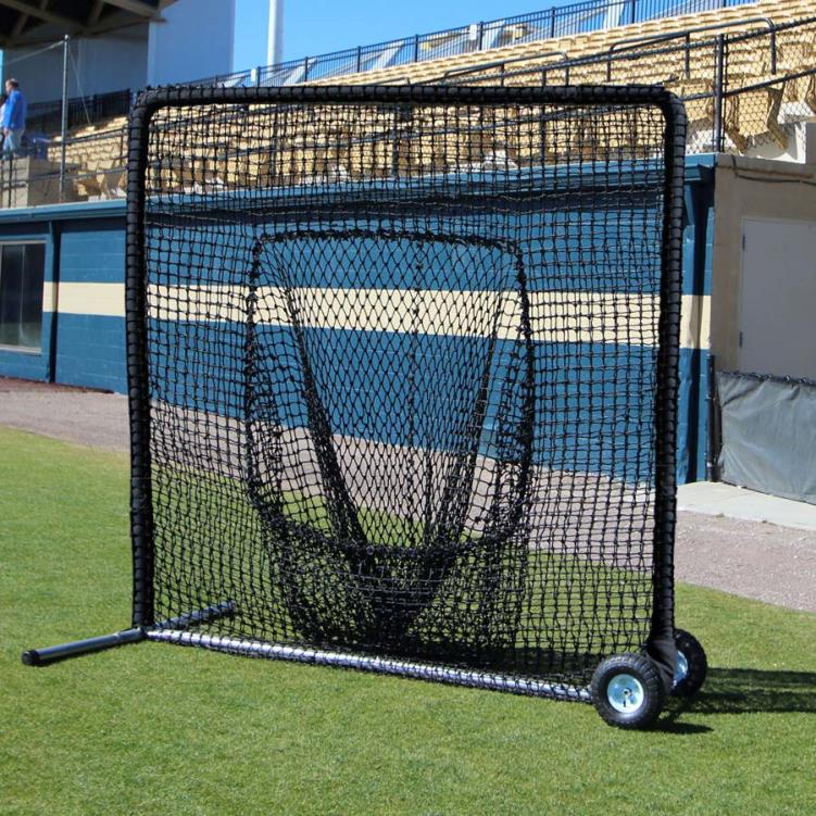 Cimarron 7' x 7' #84 Premier Sock Net and Frame with Wheels