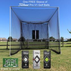 Thumbnail Image 2 for Cimarron Masters Golf Net and Corner Kit with FREE sleeve of ProV1 Golf Balls