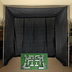 Thumbnail Image 2 for Cimarron 5x10x10 Clubhouse Archery Golf Net with Frame Kit