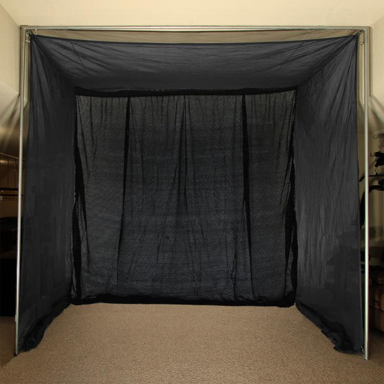 Cimarron 5x10x10 Clubhouse Archery Golf Net and Complete Frame