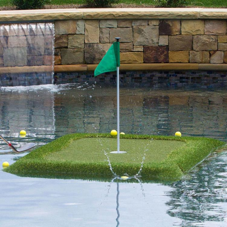 Floating Golf Green Junior - 3' x 4'